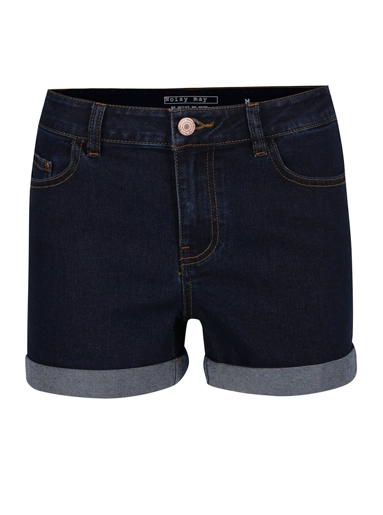 Pantaloni scurti bleumarin Noisy May Be din denim