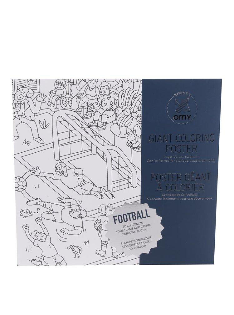 Velká omalovánka Football OMY