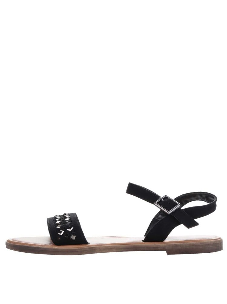 Hnědo-černé sandály Dorothy Perkins