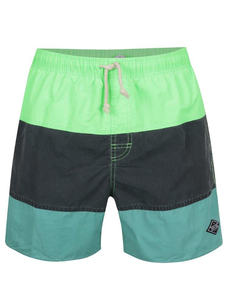 Zelené pánské plavky Rip Curl Volley Aggrosection