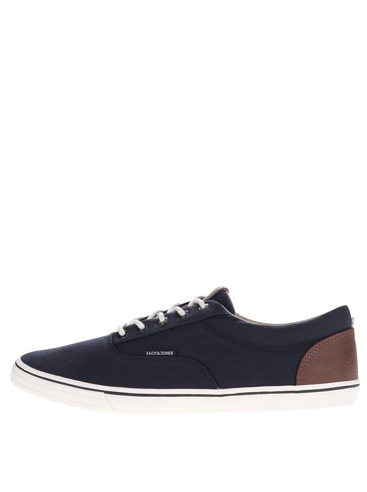 Pantofi sport bleumarin din panza Jack & Jones Vision Mixed