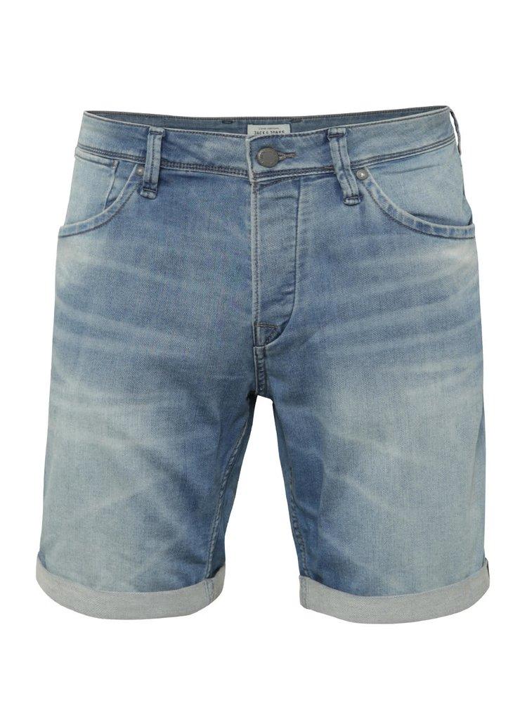Světle modré džínové kraťasy Jack & Jones Rick Dash