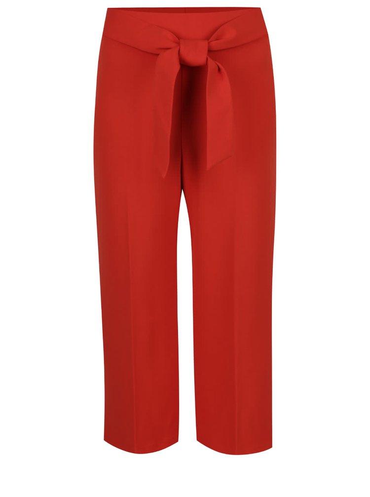 Pantaloni culottes Miss Selfridge roșii