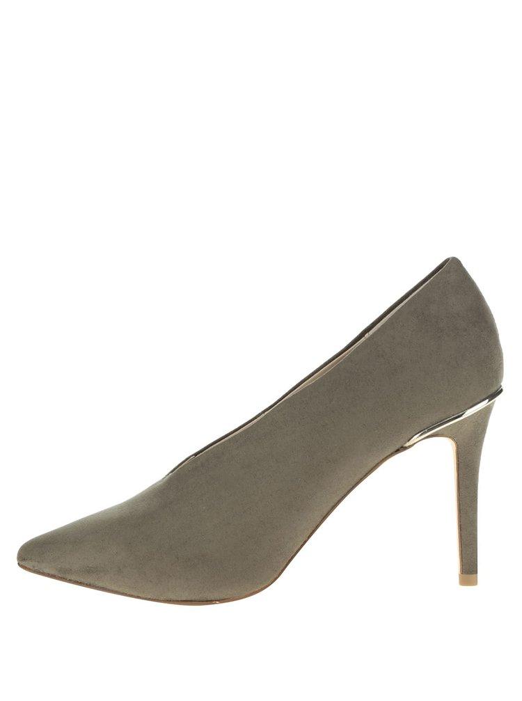 Pantofi verzi Miss Selfridge