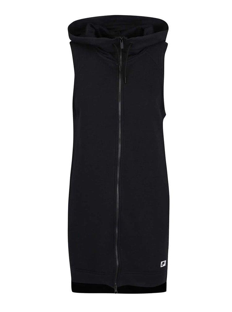 0f58abf29 Černá dámská dlouhá vesta na zip Nike Sportswear Modern Vest | ZOOT.cz
