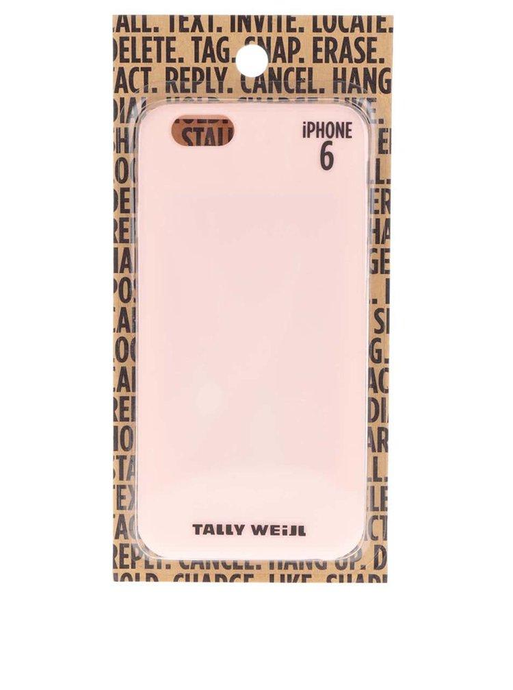 Růžový kryt pro IPhone 6 TALLY WEiJL