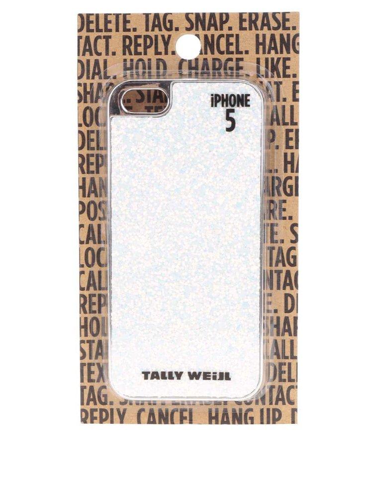 Carcasă albă TALLY WEiJL pentru IPhone 5