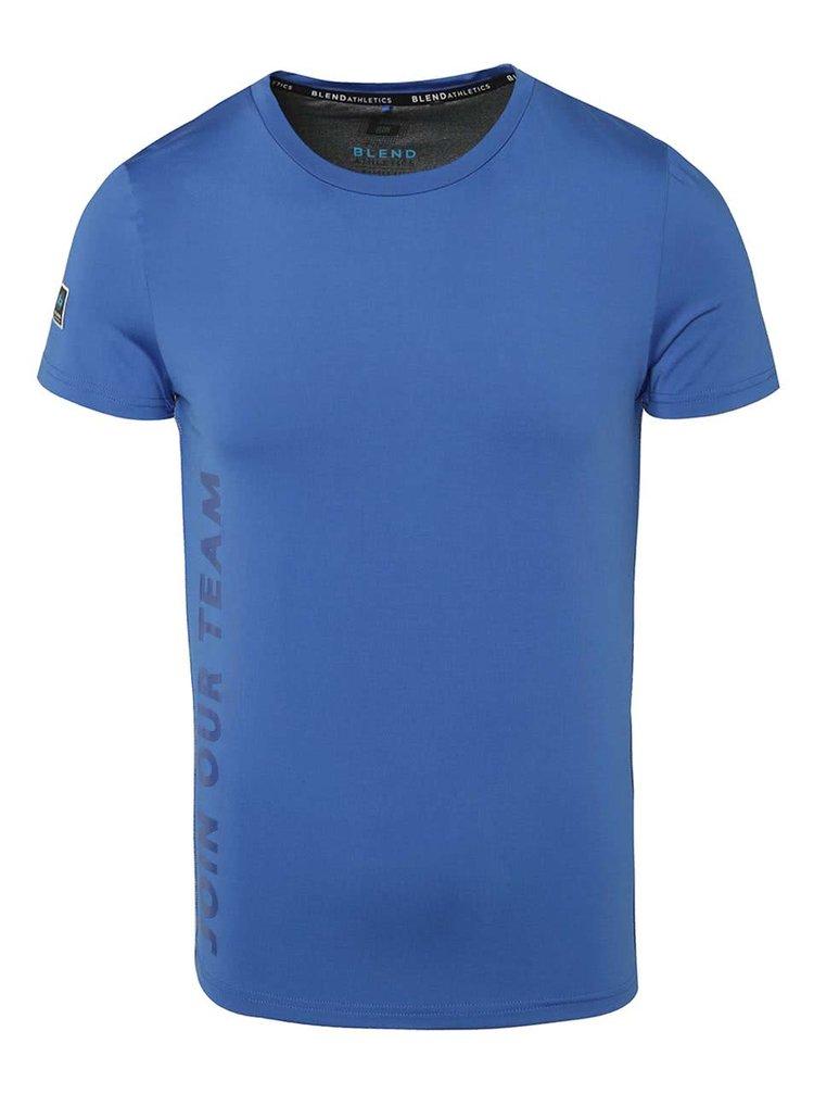 Modré funkční triko s krátkým rukávem Blend