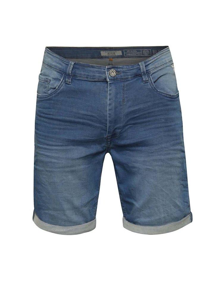Pantaloni scurți albaștri Blend din denim