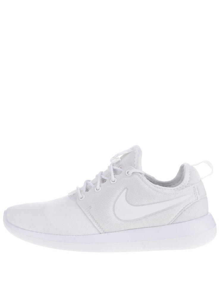 Bílé dámské tenisky Nike Roshe