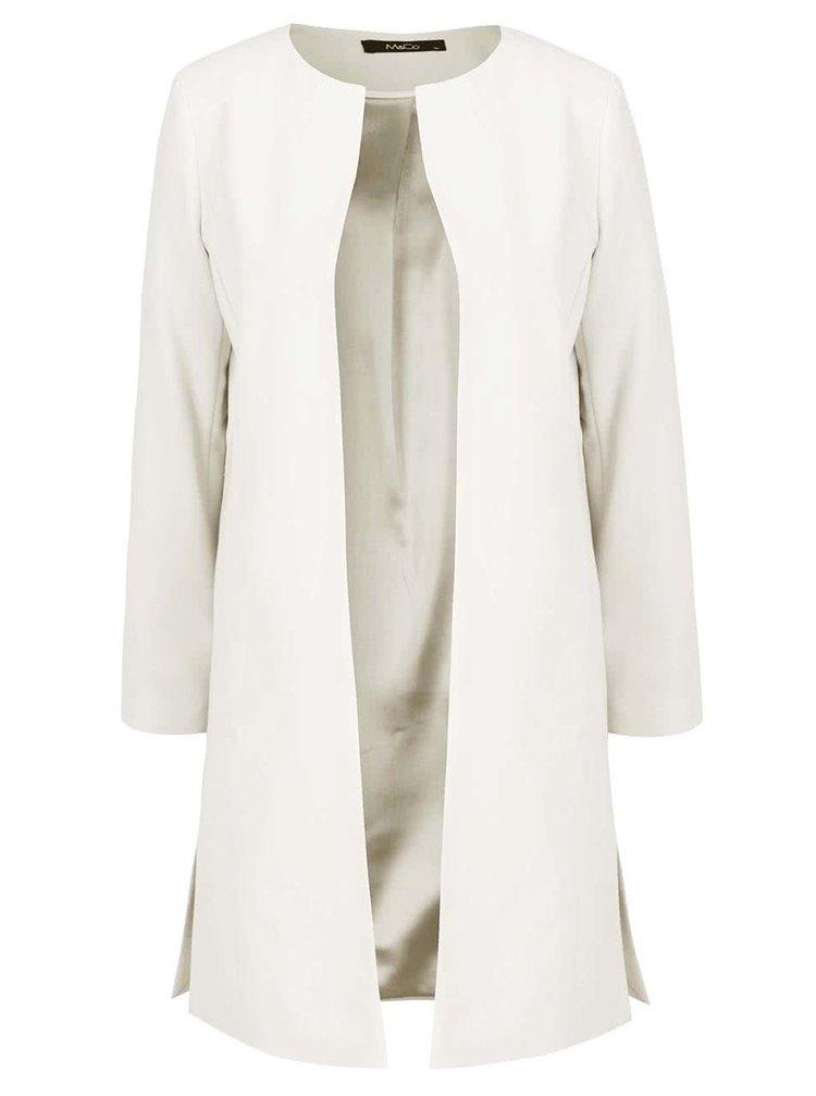 Jachetă lungă crem M&Co