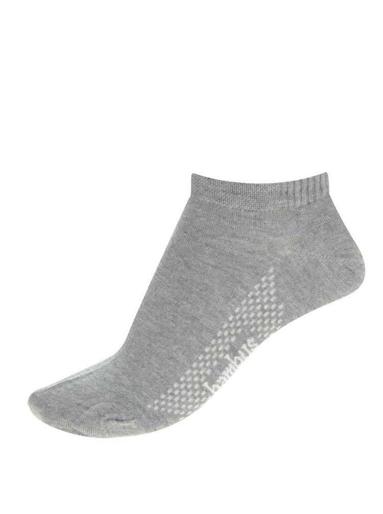 Šedé pánské kotníkové ponožky Bellinda In-Shoe