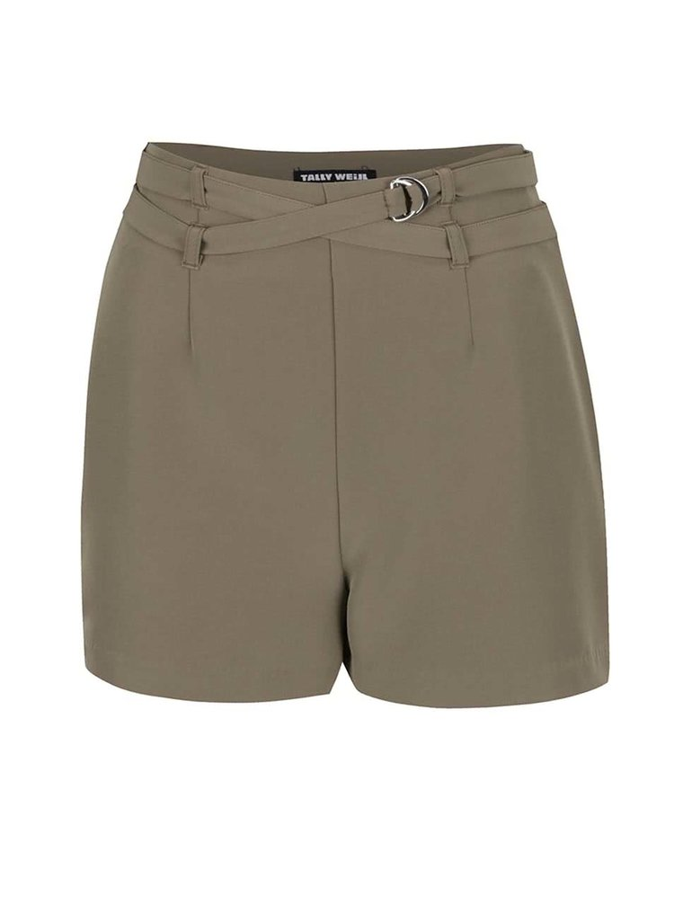 Pantaloni scurți TALLY WEiJL kaki