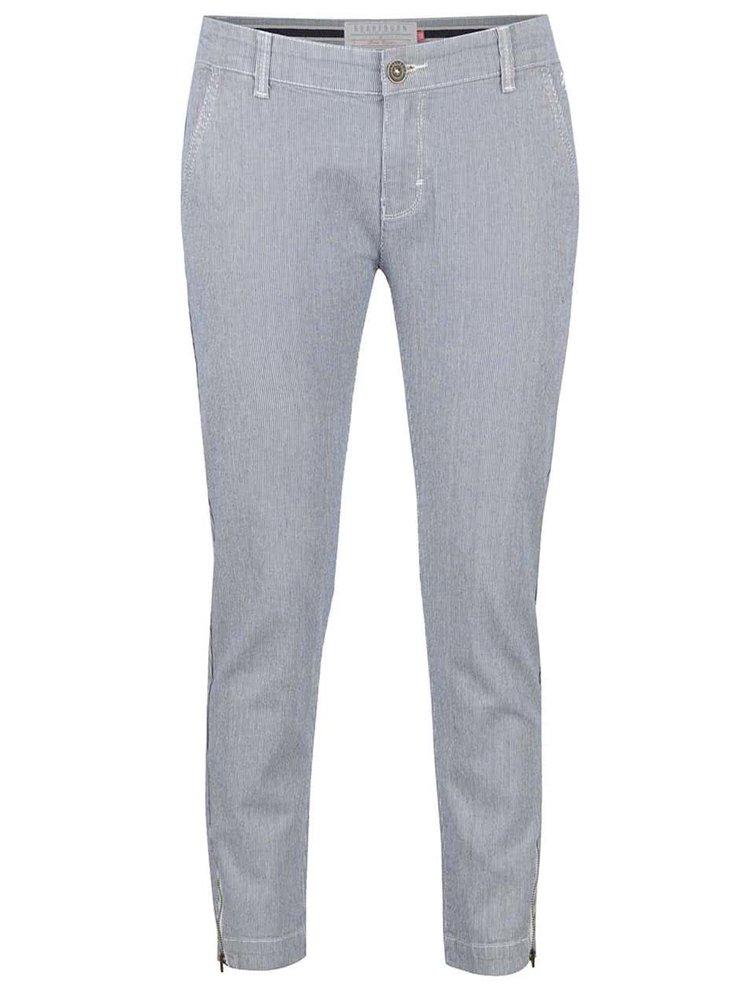 Modré pruhované krátké kalhoty Brakeburn