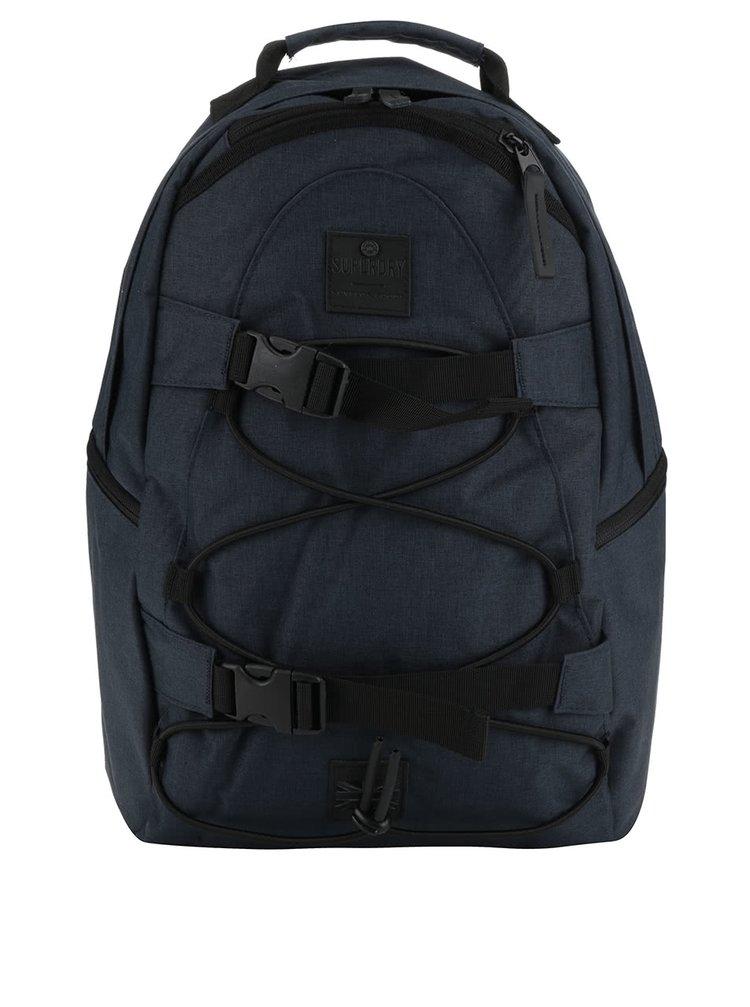 Tmavě modrý pánský batoh Superdry