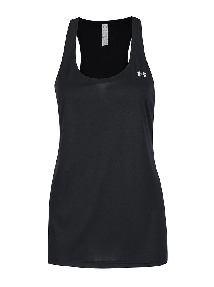 Top negru Under Armour Solid pentru femei