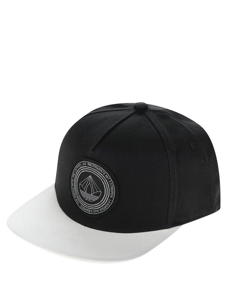 Șapcă alb cu negru cu logo Originals Snb