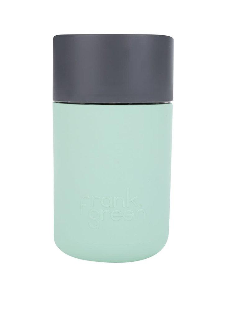 Světle zelený SmartCup Frank s tmavě šedým víčkem Green 340 ml