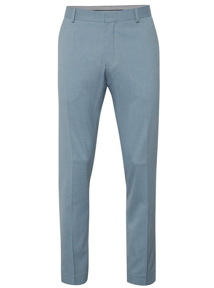 Světle modré oblekové kalhoty Selected Homme Done-Summer