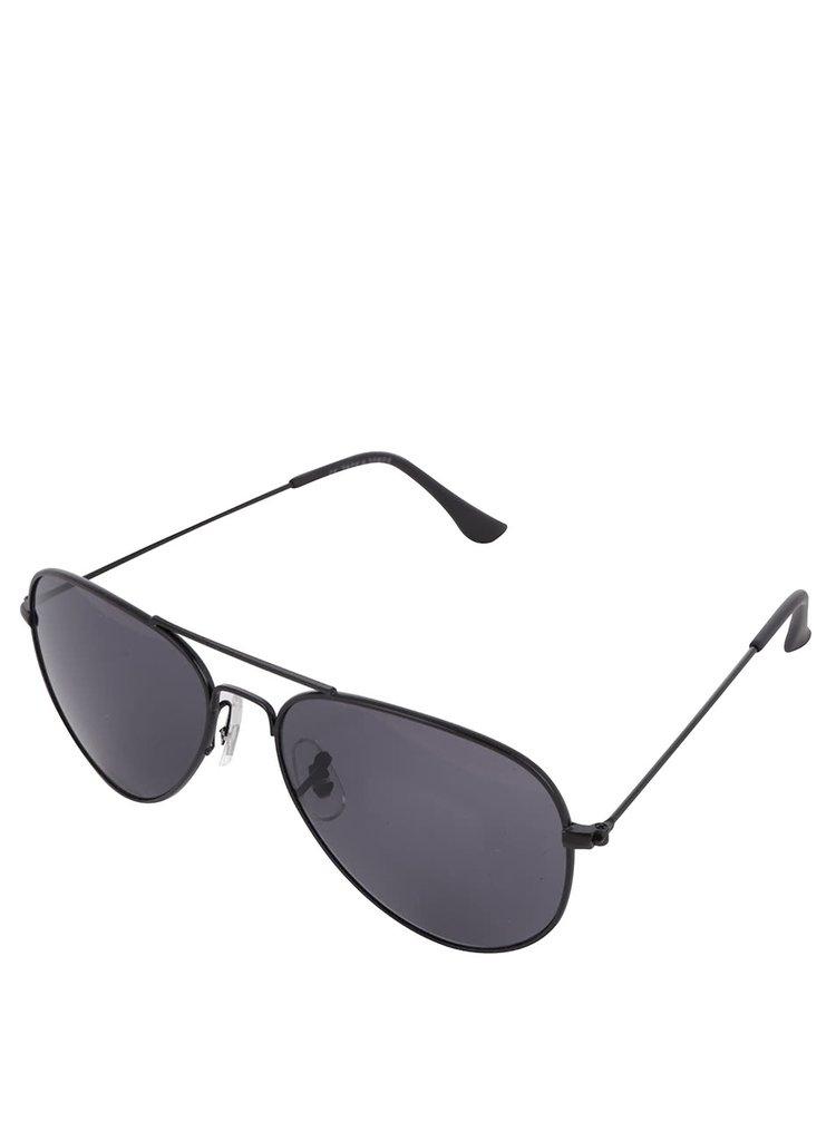 Ochelari de soare negri Jack & Jones Leo