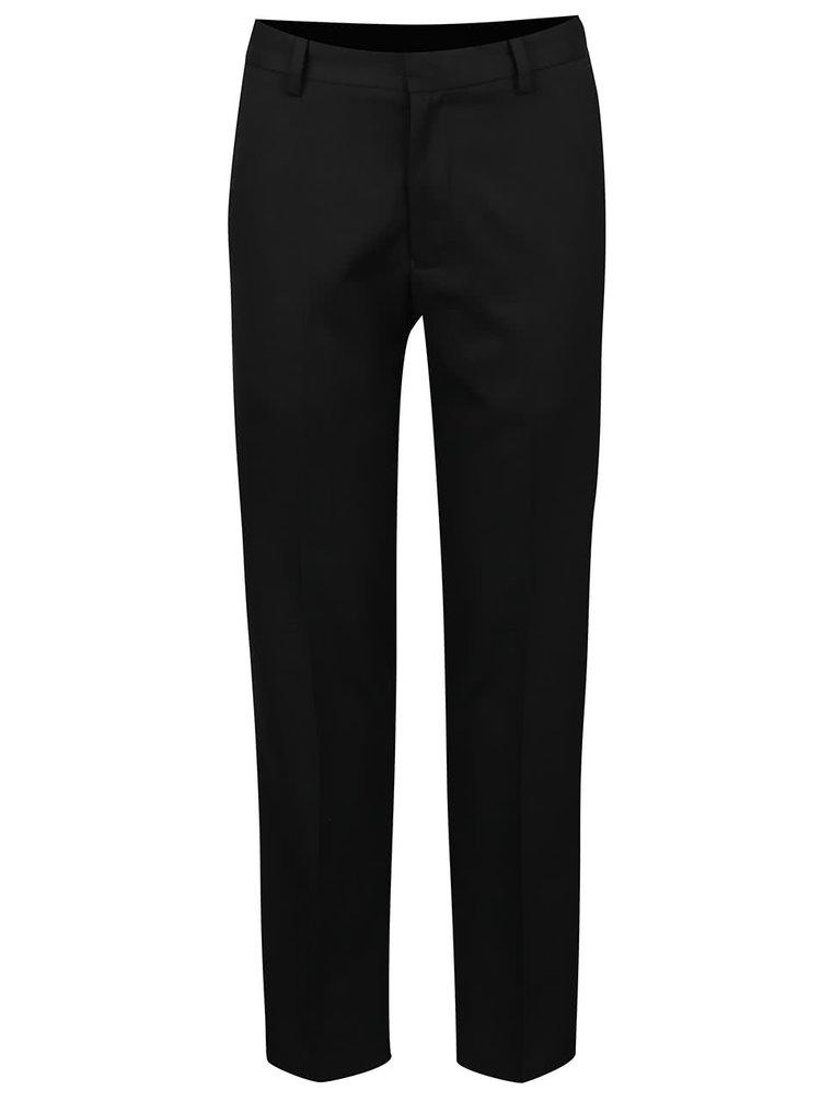 Čierne formálne nohavice Burton Menswear London