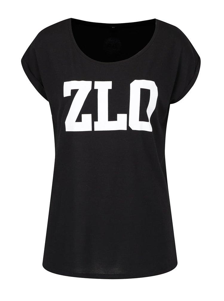 Černé dámské tričko ZOOT Originál ZLO