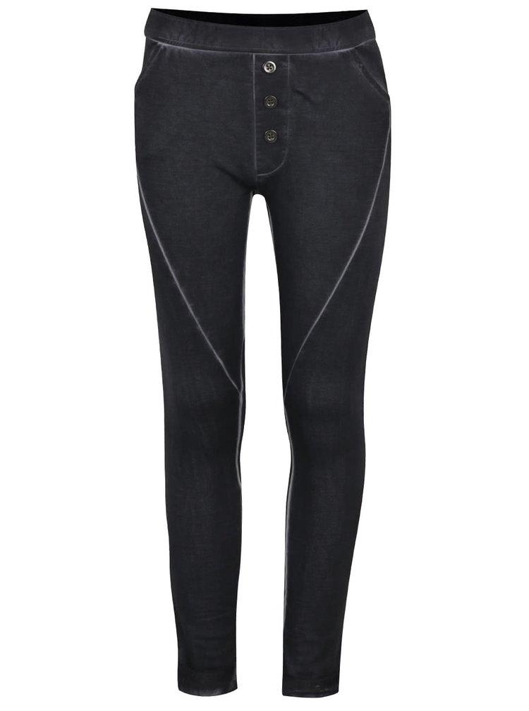 Pantaloni sport gri închis Blue Seven pentru fete