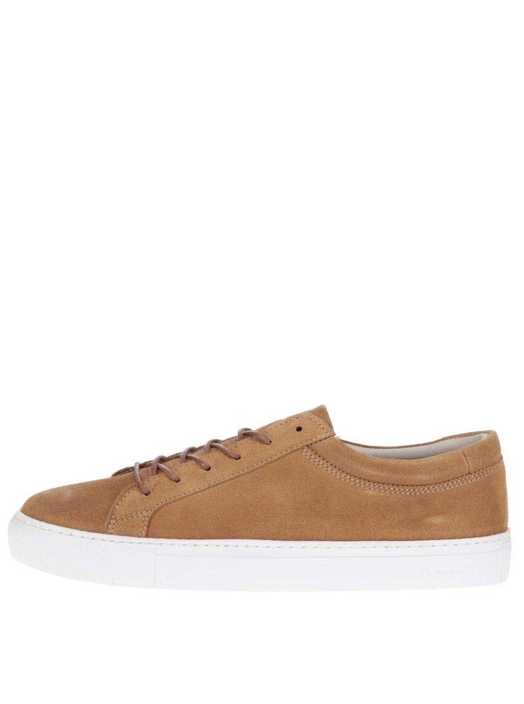 Pantofi sport maro Jack & Jones Galaxy din piele întoarsă