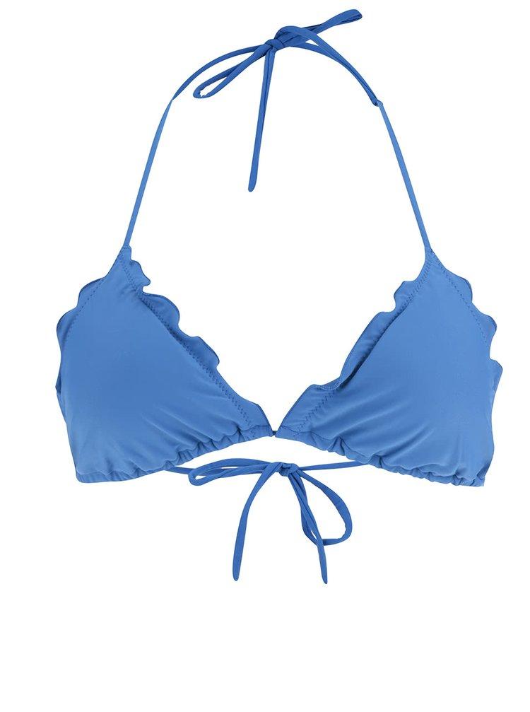 Modrý horní díl plavek Pieces Lala