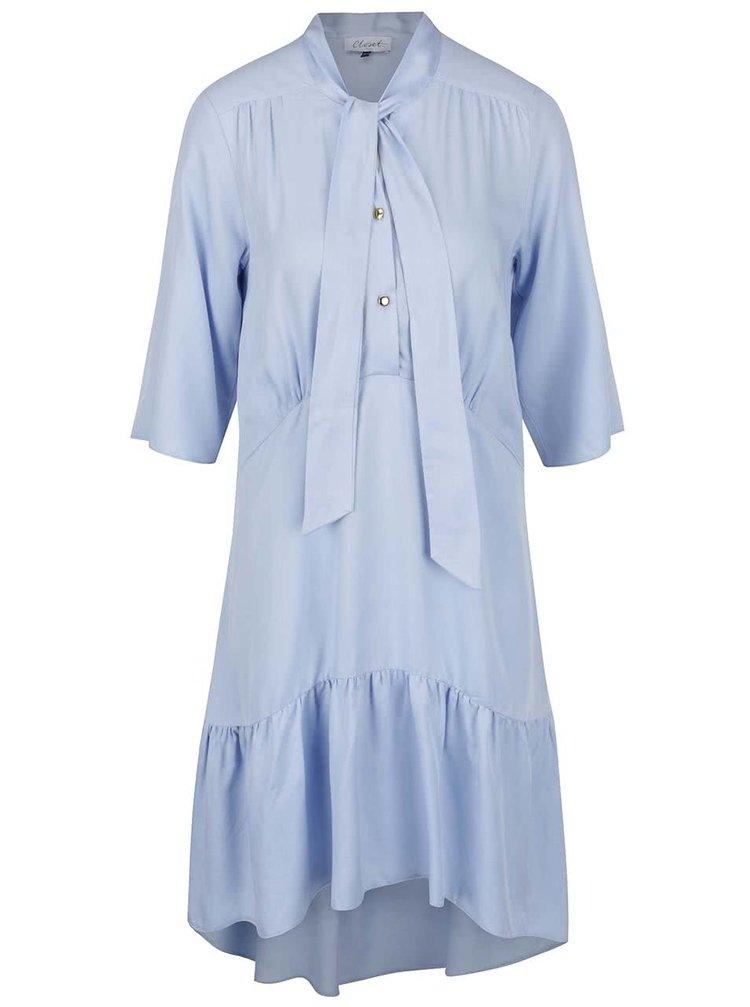 Rochie albastru deschis Closet cu panglici decorative
