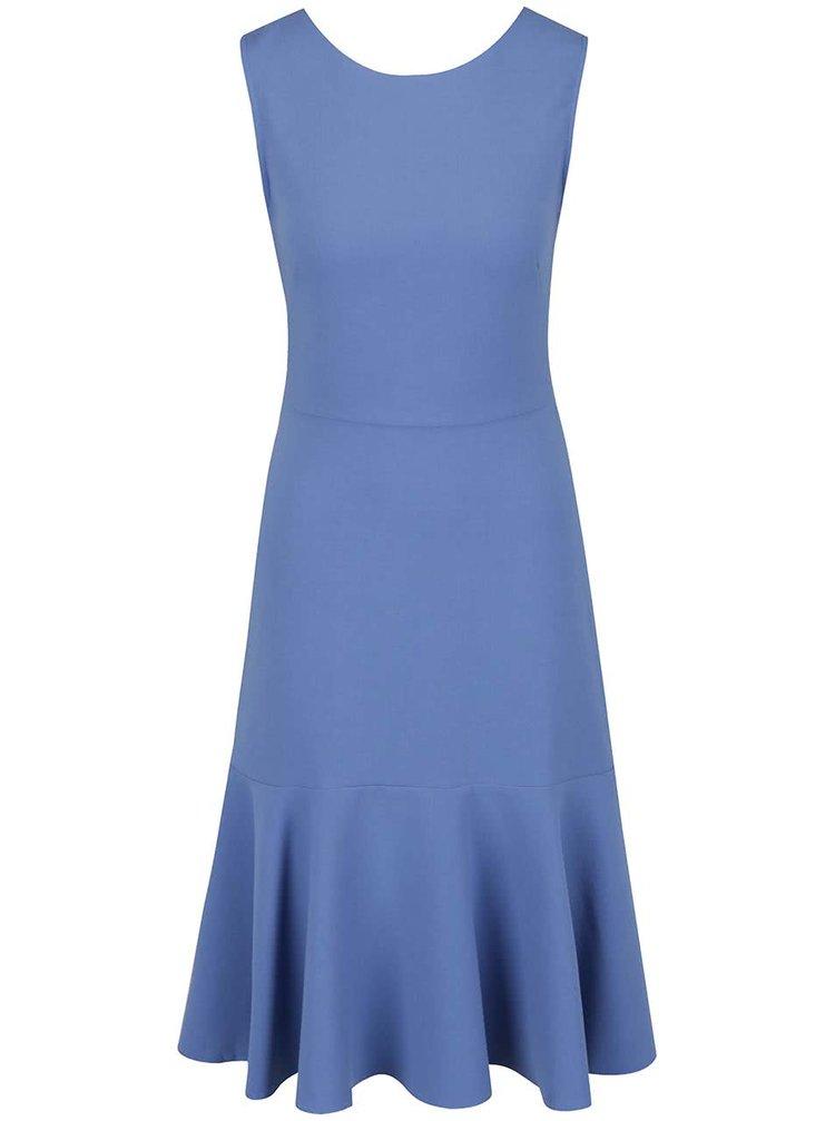 Modré šaty bez rukávů Closet