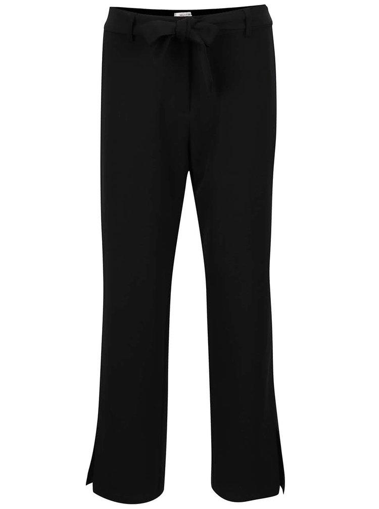 Pantaloni negri Selected Femme Abela