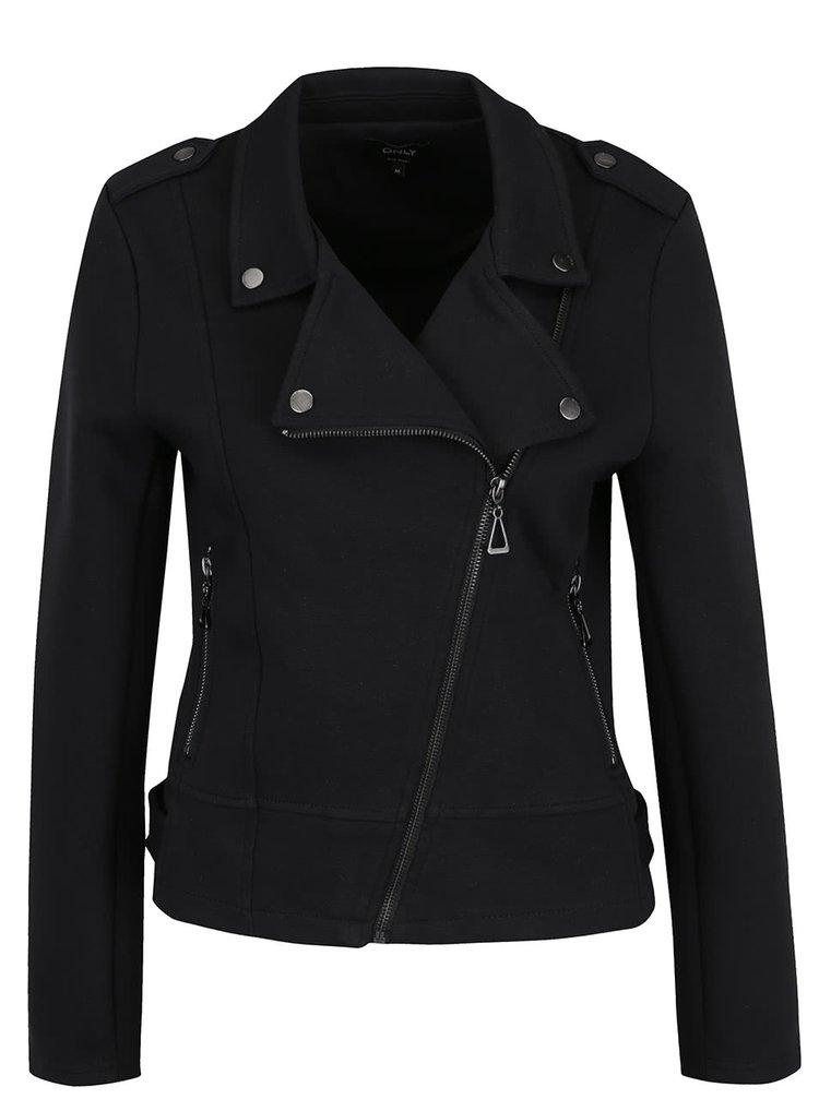 Čierna mikinová bunda ONLY New