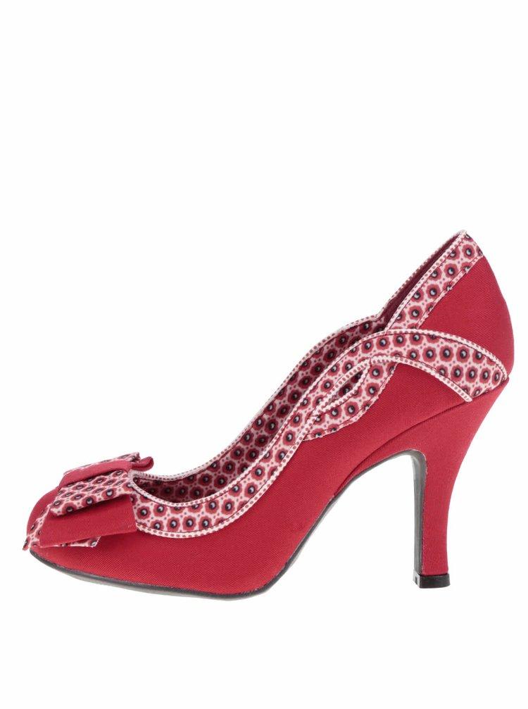 Pantofi cu toc Ruby Shoo Ivy cu fundă decorativă