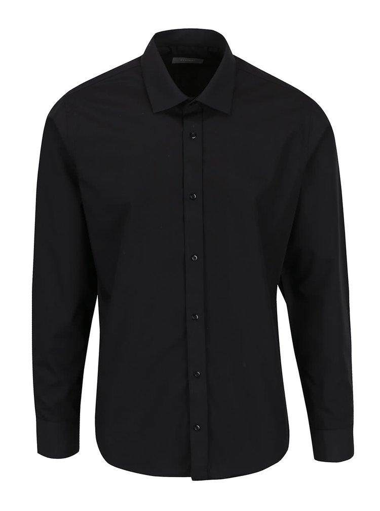 Černá formální košile Bertoni Gustav