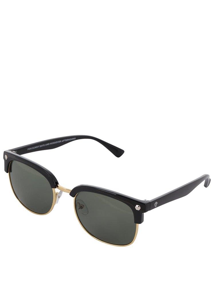 Ochelari de soare negri CHPO Casper unisex