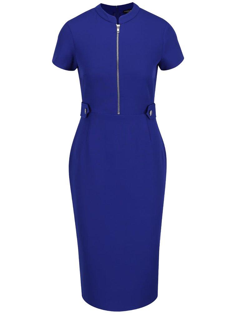 Rochie albastră Dorothy Perkins cu fermoar decorativ