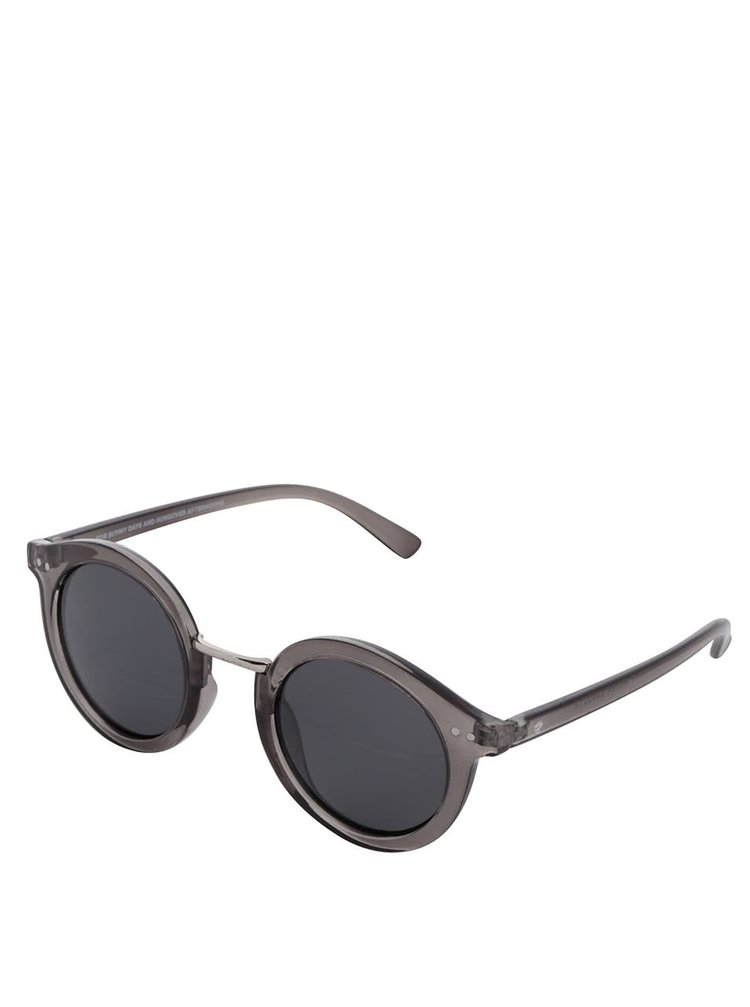 Ochelari de soare gri transparent CHPO Vanessa unisex