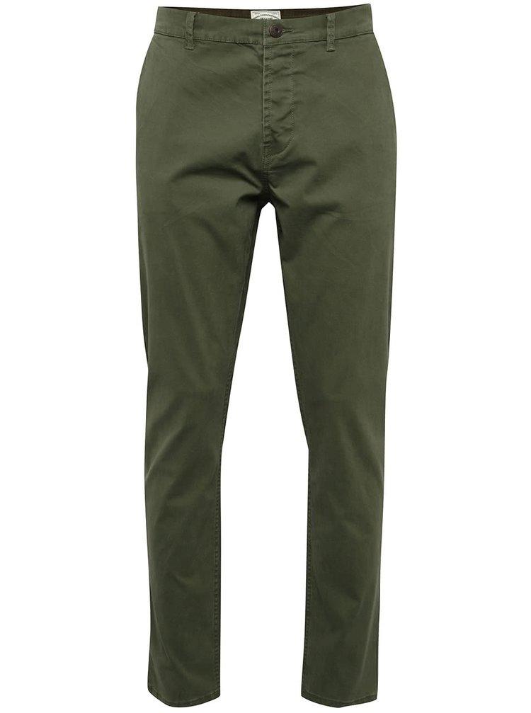 Khaki chino kalhoty ONLY & SONS Sharp