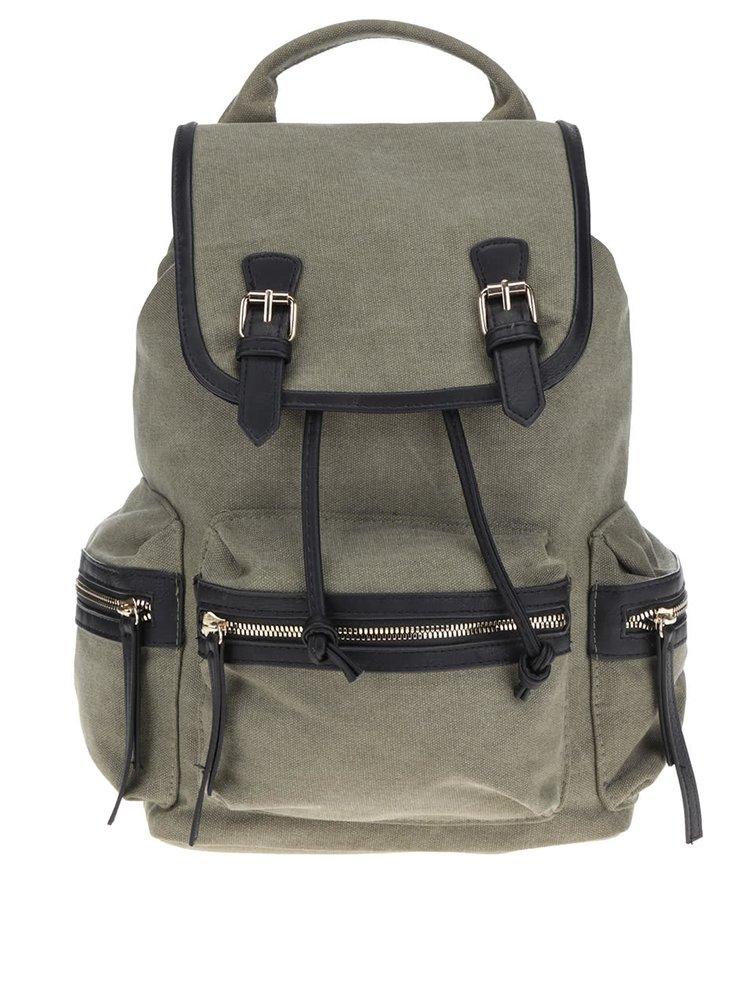 Zelený batoh Pieces SImone