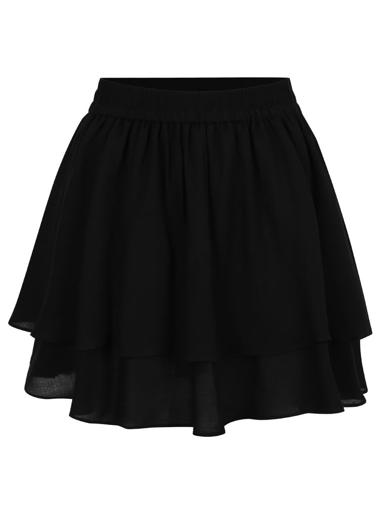 Rochie neagra ONLY Naya cu talie elastica