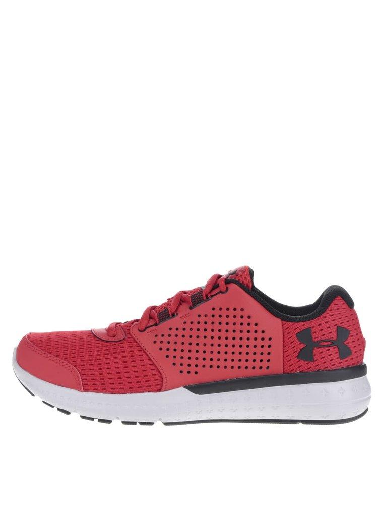 Pantofi sport roșii Under Armour UA Micro G Fuel RN pentru bărbați