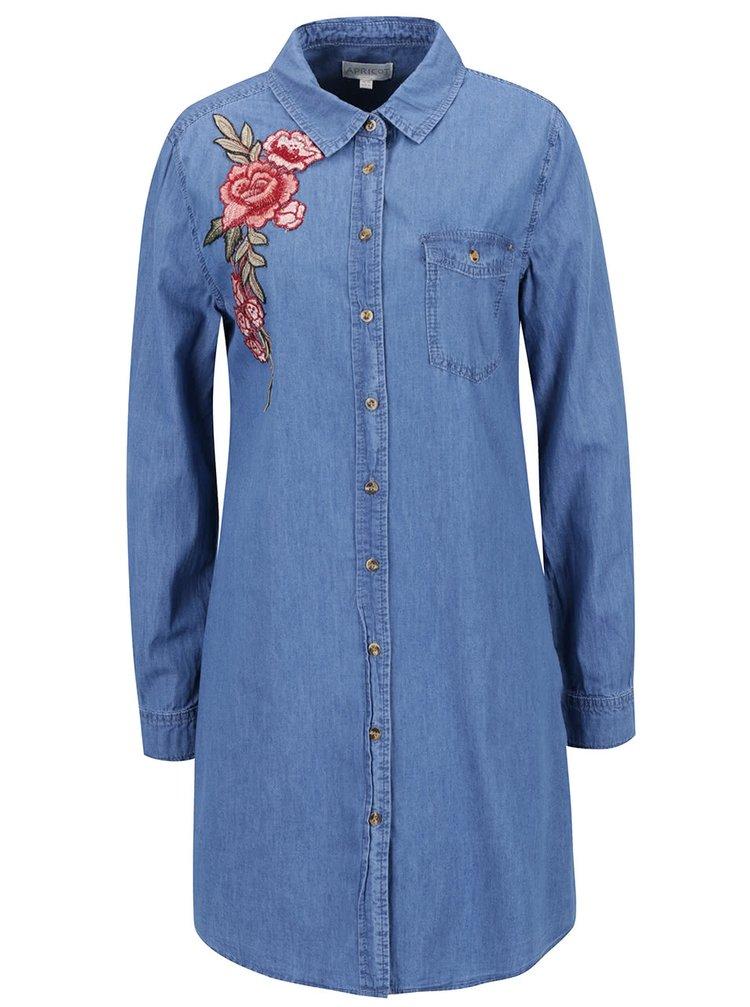 Rochie albastră Apricot din denim