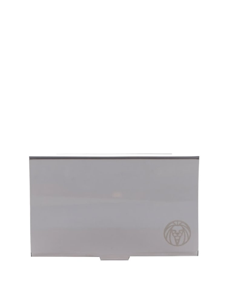 Portcard argintiu Lucleon cu logo