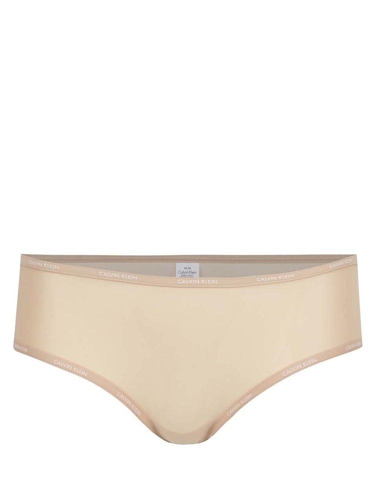 Béžové lehce průsvitné kalhotky Calvin Klein Underwear
