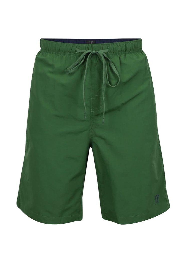 Pantaloni scurți verzi pentru baie JP 1880 cu talie elastică și logo