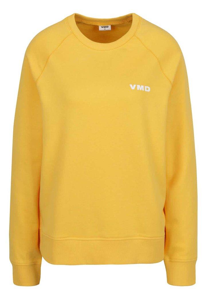 Žlutá mikina VERO MODA O-Neck