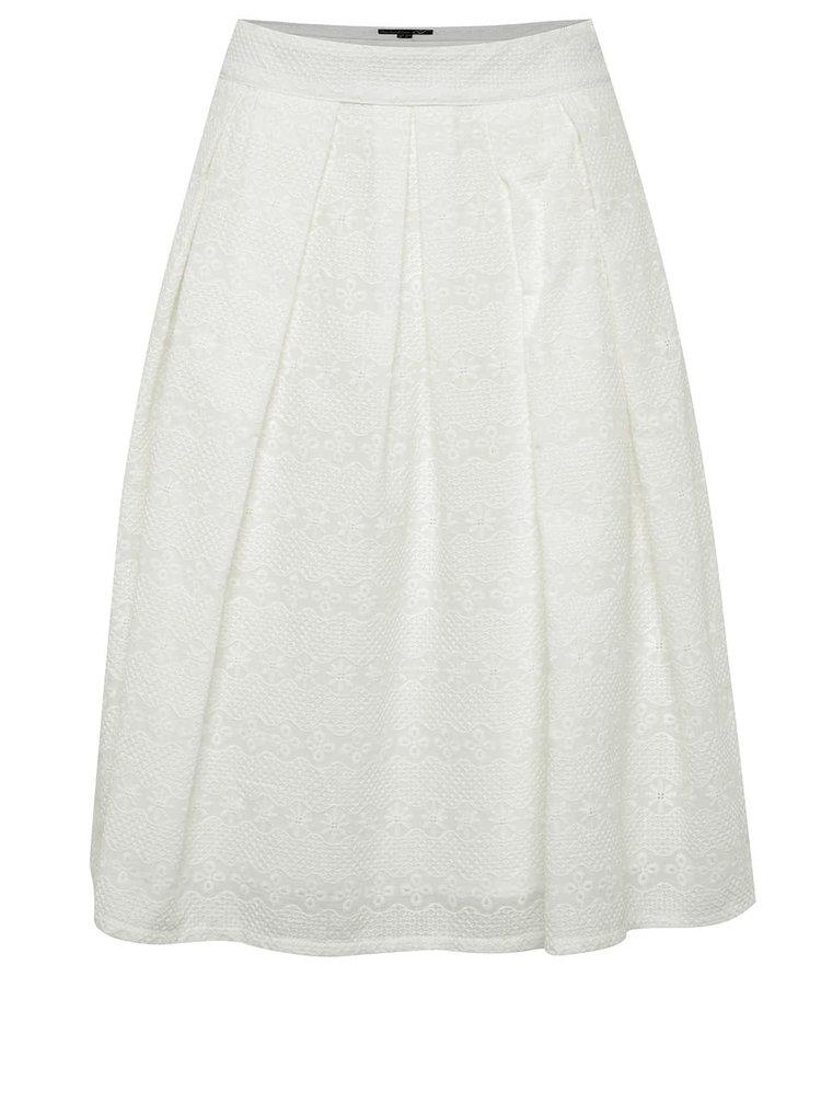 Krémová sukně s jemným vzorem Smashed Lemon