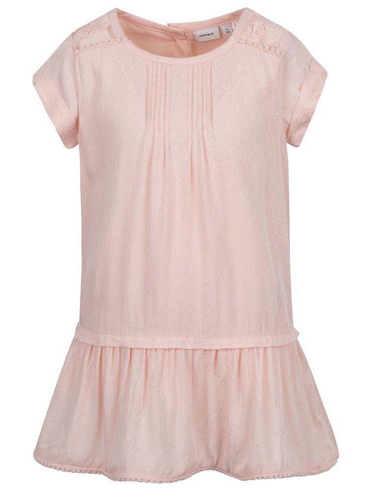 Růžové šaty name it Kimmie