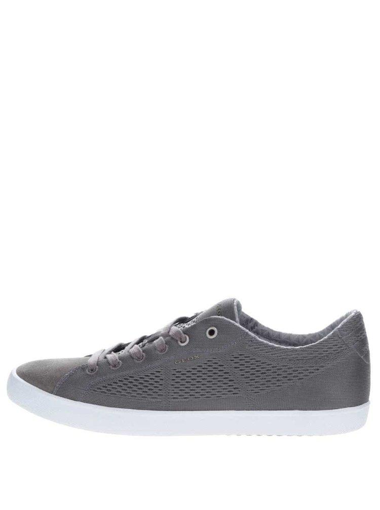 Pantofi sport gri Geox Smart B